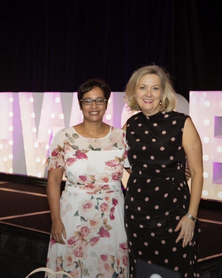 Carole Cooper and Melanie Waters Ryan at the Womenwise Conference
